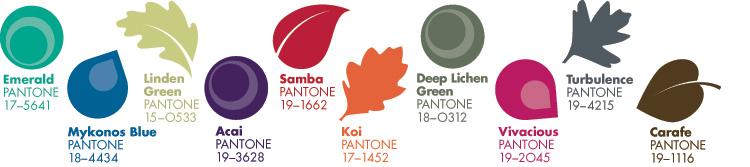 Pantone Autumn Colour Report