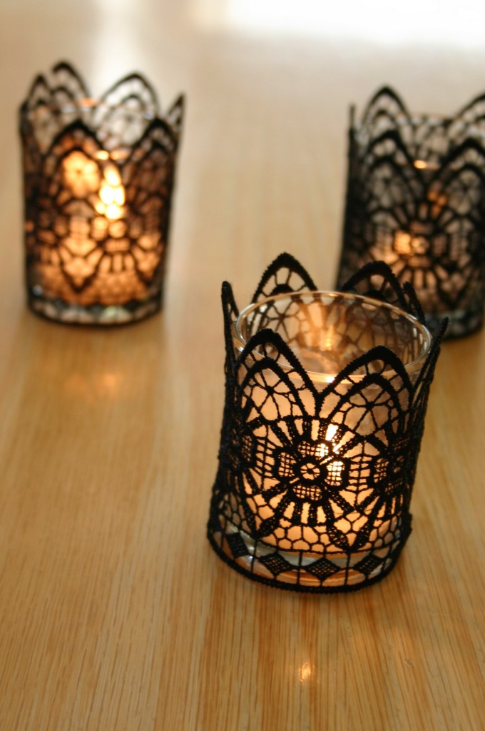 lace luminaries
