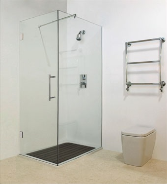 The Wave Corner Shower Cubicle