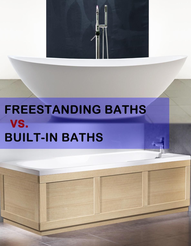 Freestanding Baths vs Built-In Baths - livinghouse.co.uk