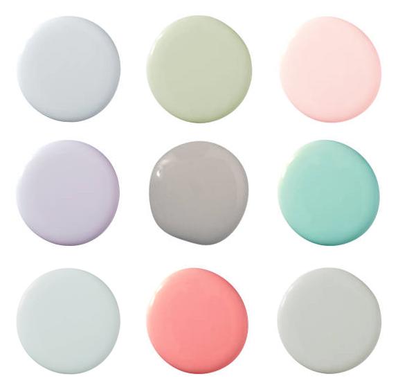 Relaxing Paint Colours -Livinghouse Blog