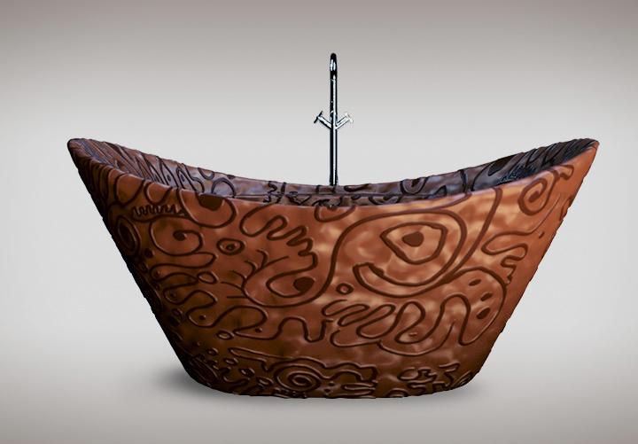 chocolate-bathtub