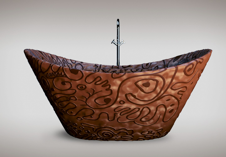 chocolate-bathtub