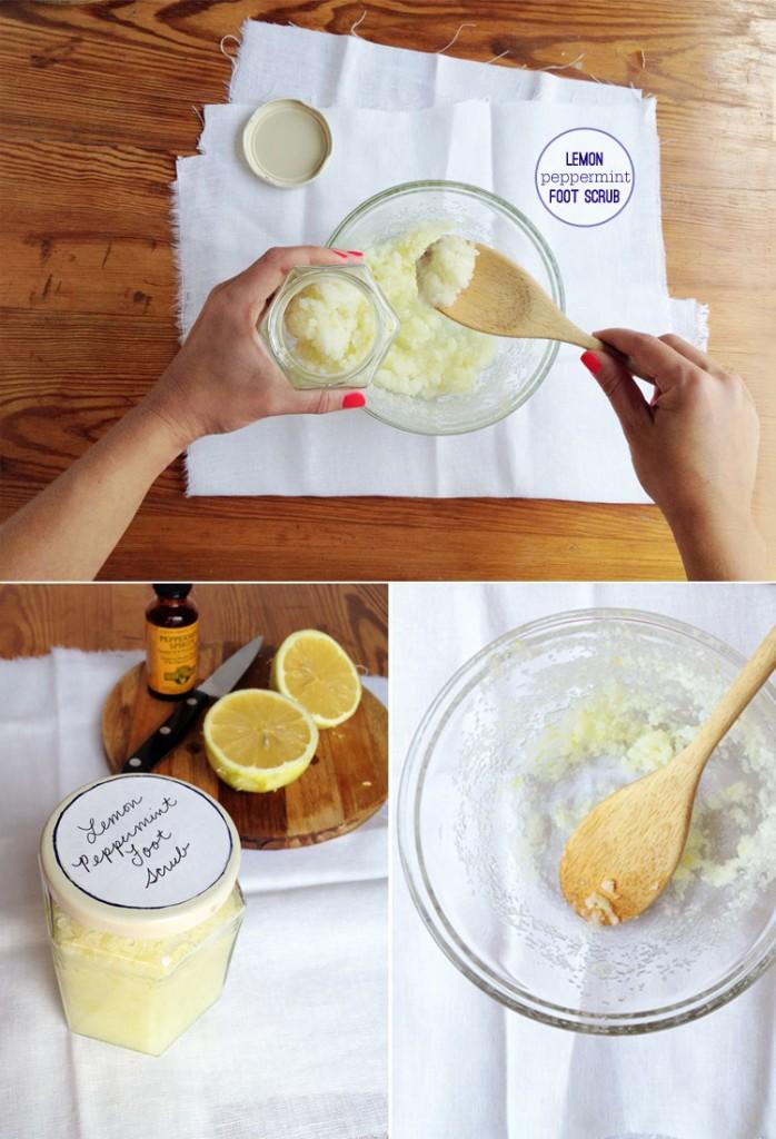 lemon-peppermint-foot-scrub