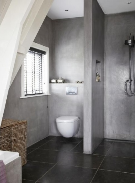 concrete-bathroom