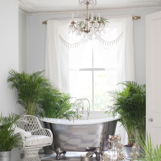 plants in bathroom. housetohome co uk  Plants for retro bathrooms to complement your bathroom style Livinghouse Blog