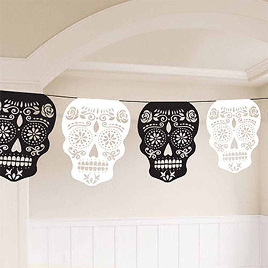 halloween-day-of-the-dead-skull-garland