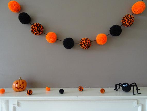 halloween-pompom