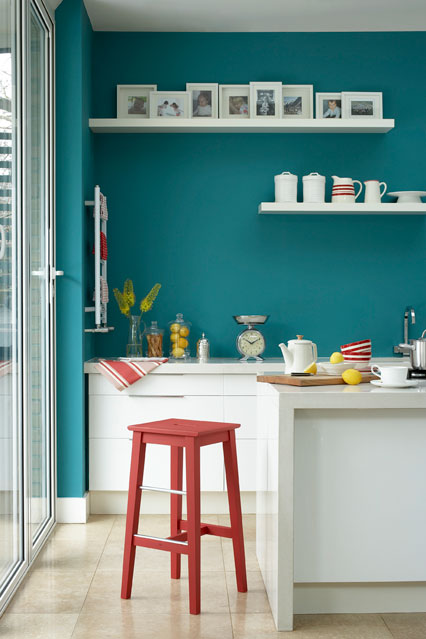 blue-kitchen