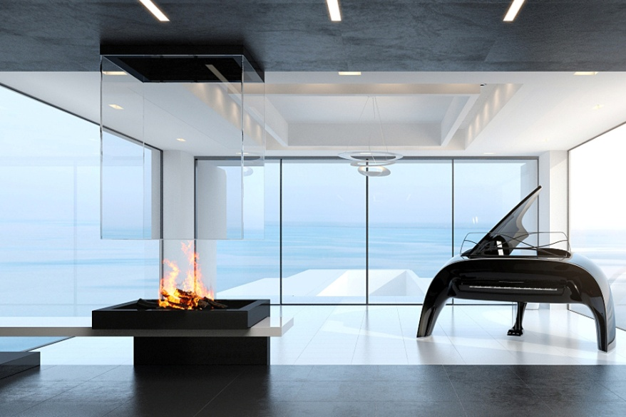 glass-fireplace