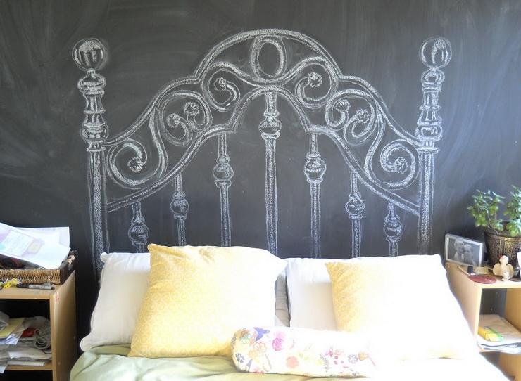 chalk-headboard
