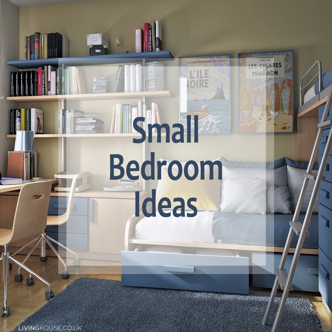 Small bedroom ideas livinghouse blog for Bedroom design uk