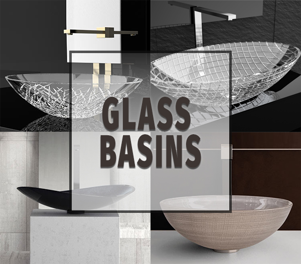 glass basins