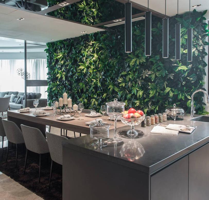 Tropical Living Wall