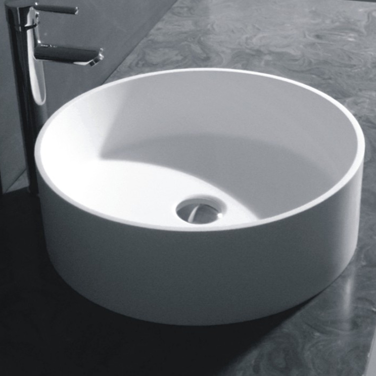 Circulo Basin Round Counter Top Basin Livinghouse