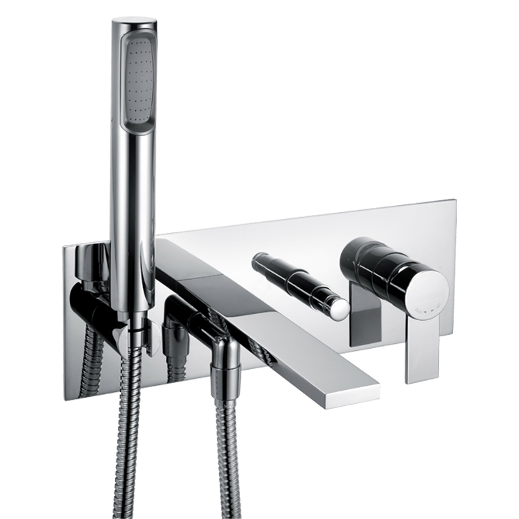 Loft luxury Bath Tap - With Handheld Shower - Livinghouse