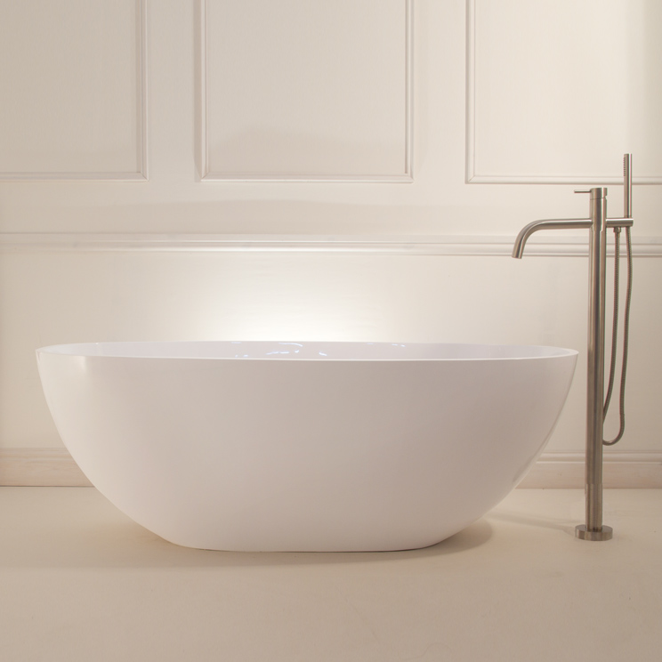 Contemporary Baths - Freestanding Stone Resin Baths - Livinghouse