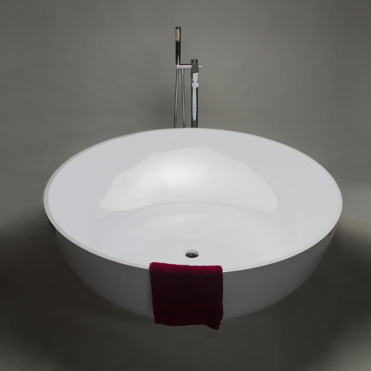 Polo Stone Resin Round Bath Large Circular Bath