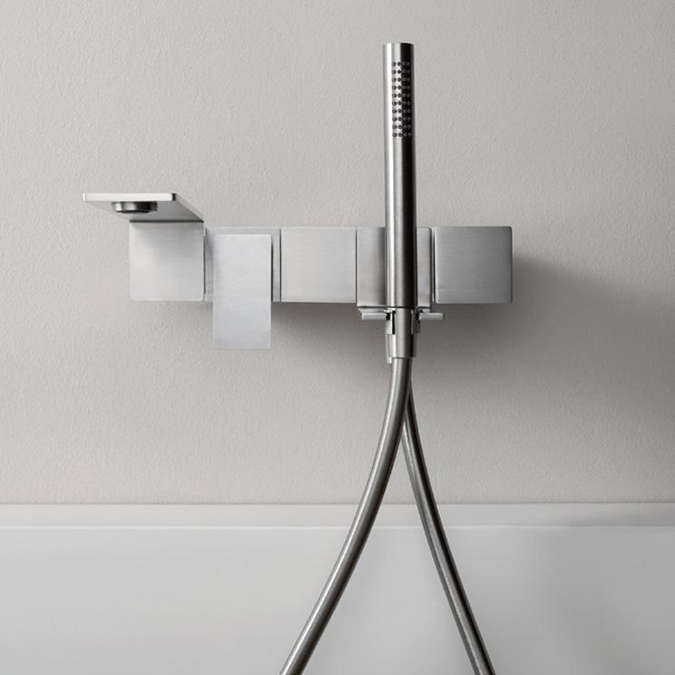 Slimm Modern Bath Filler Stainless Steel Livinghouse